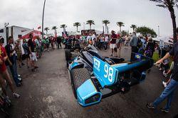 Car of Alex Tagliani, Bryan Herta Autosport with Curb-Agajanian Honda