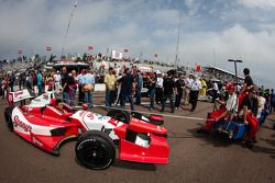 Car of Justin Wilson, Dale Coyne Racing Honda