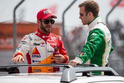 EJ Viso, Team Venezuela / Andretti Autosport / HVM Chevrolet and Ed Carpenter, Ed Carpenter Racing Chevrolet