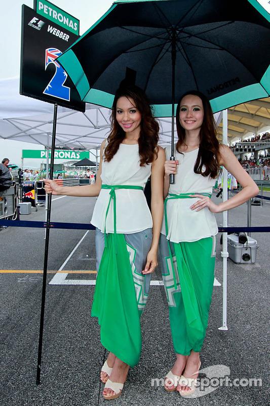 Amáveis grid girls
