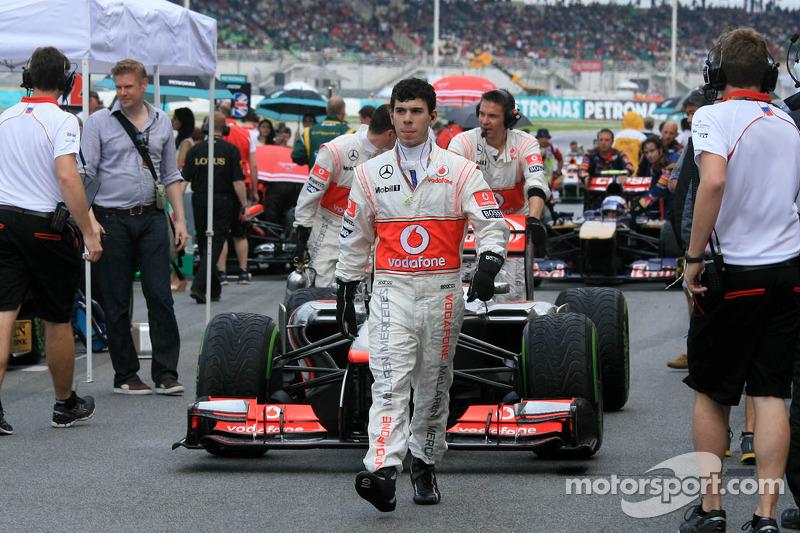 Дженсон Баттон. ГП Малайзии, Воскресенье, перед гонкой.