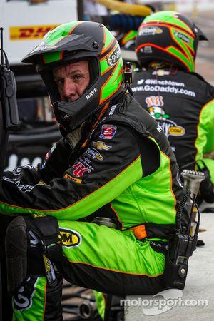 Miembro del grupo de James Hinchcliffe, del Andretti Autosport Chevrolet unas cuantas vueltas antes