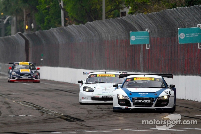 Bret Curtiss, Global Motorsports Group/Spectra Resources/United Steel Audi R8 & Duncan Ende, Global