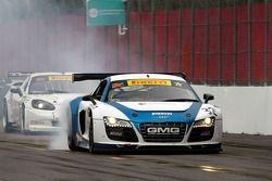 Bret Curtiss, o Global Motorsports Grupo / Spectra Resources / United Steel Audi R8 & Duncan Ende, M