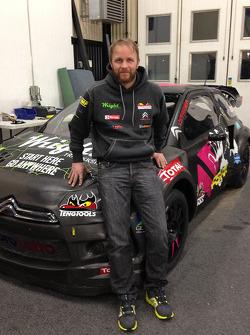 Petter Solberg et sa Citroën Rally Cross