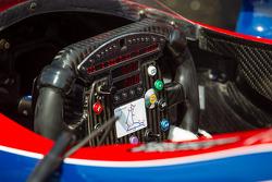 Steering wheel for Marco Andretti, Andretti Autosport Chevrolet