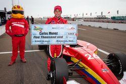 pole Carlos Munoz, Andretti AutoSport