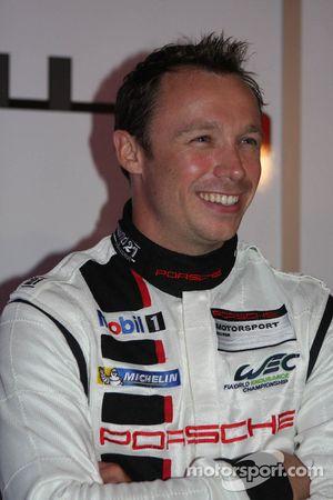 Патрик Пиле. Презентация Porsche 911 RSR, презентация.