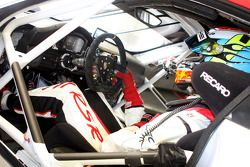 En el interior del Porsche 911 RSR