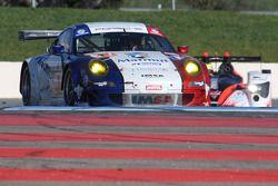 #67 IMSA Performance Matmut Porsche 911 GT3 RSR: Patrice Milesi, Raymond Narac