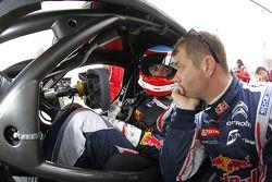 Sébastien Loeb e Alvaro Parente