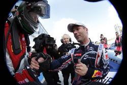 Race winner Sébastien Loeb