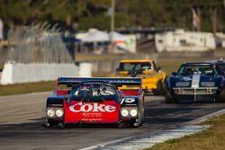#15 1987 Porsche 962: Ray Langston, Eric van De Poele
