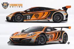 The MRS McLaren MP4-12C GT3
