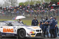 #0 BMW Team Brazil BMW Z4: Caca Bueno, Allam Khodair on the grid