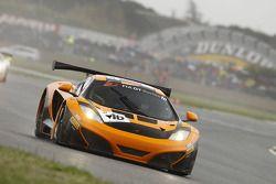 #16 Dörr Motorsport McLaren MP4-12C: Niclas Kentenich, Daniel Keilwitz