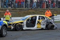 Rob Austin's gehavende Wix Racing Audi