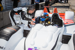 LMPC pole winner Colin Braun