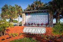 Sebring International Speedway muro dos campeões