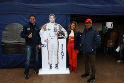 Mehdi Bennani, BMW E90 320 TC, Proteam Racing com seus pais