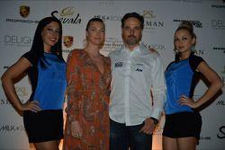 Yvan Muller, Chevrolet Cruze 1.6T, RML et sa petite amie Justine Monnier