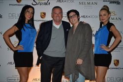 Marcello Lotti, WTCC General Manager and his daughter Camilla