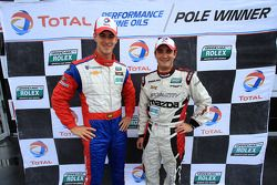GT polesitter Paul Edwards en GX polesitter Tom Long