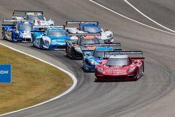 Start: #99 GAINSCO/Bob Stallings Racing Corvette DP: Jon Fogarty, Alex Gurney
