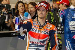 O terceiro colocado qualifier Dani Pedrosa