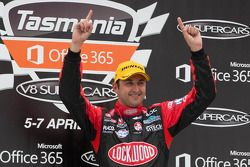 Race winner Fabian Coulthard, Lockwood Racing