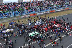 Activiteiten voor de race