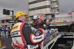 GT300 winners Katsuyuki Hiranaka and Bjorn Wirdheim