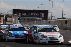 Tom Chilton, Chevrolet Cruze 1.6 T, RML e Alex MacDowall, Chevrolet Cruze 1.6T, bamboo-Engenharia