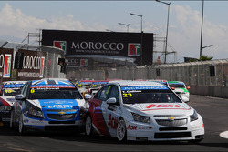 Tom Chilton, Chevrolet Cruze 1.6 T, RML et Alex MacDowall, Chevrolet Cruze 1.6T, bamboo-engineering
