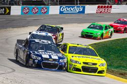 Jimmie Johnson en Paul Menard