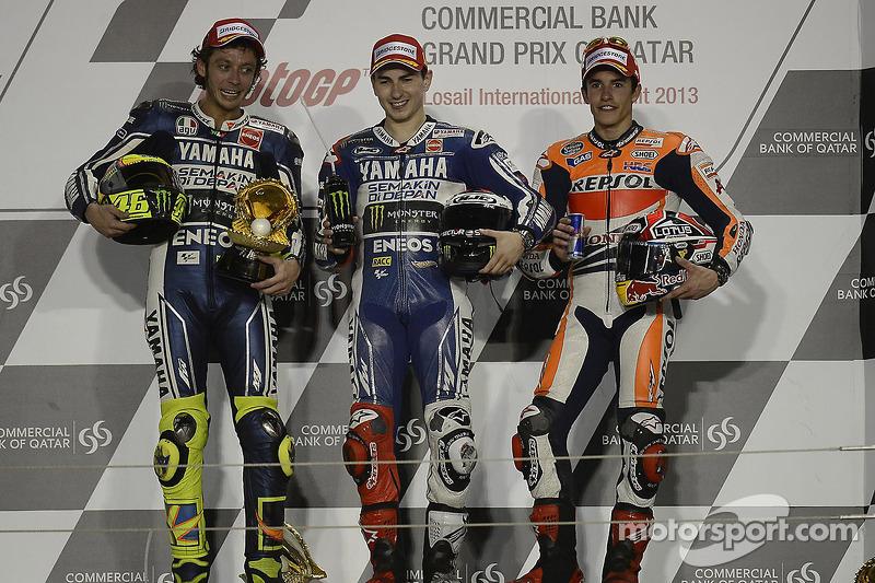 Primer podio: GP de Qatar 2013 (3º)
