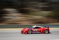 R.Ferri/AIM Motorsport Racing com Ferrari Ferrari 458: Max Papis, Jeff Segal