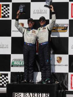 #38 BGB Motorsports Porsche Cayman: Jim Norman, Spencer Pumpelly, Jeff Mosing
