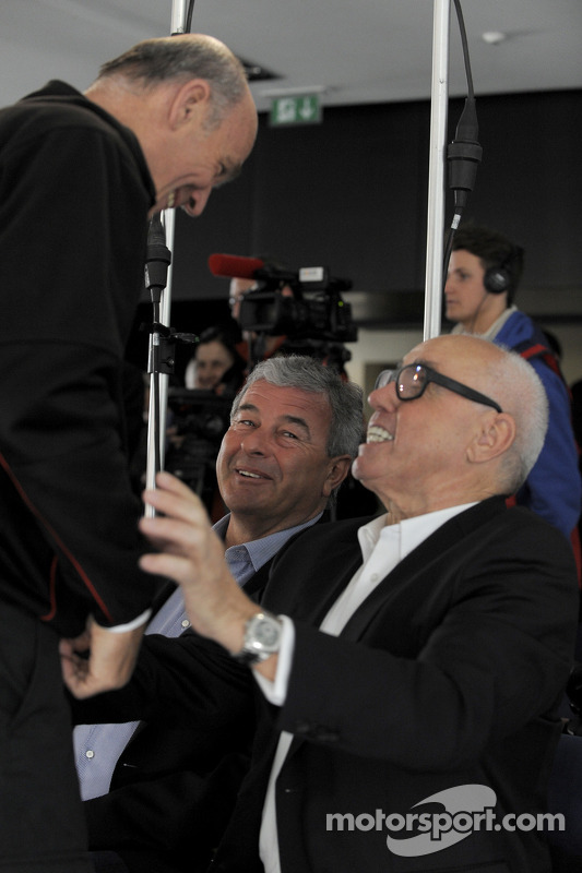 Dr. Wolfgang Ullrich, chefe da Audi Sport, e Hans Werner Aufrecht, presidente da DTM