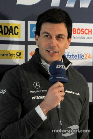 Torger Christian; Toto Wolff, Mercedes-Sportchef