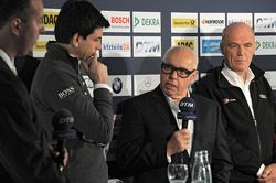 Torger Christian; Toto Wolff, Mercedes-Sportchef; Hans Werner Aufrecht, DTM; Dr. Wolfgang Ullrich, A