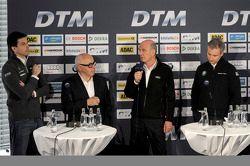 Torger Christian; Toto Wolff, Mercedes-Benz; Hans Werner Aufrecht, DTM; Dr. Wolfgang Ullrich, Audi Sport; Jens Marquardt, BMW Motorsport