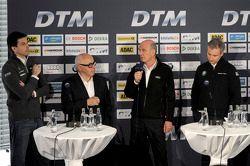 Torger Christian; Toto Wolff, Mercedes-Benz; Hans Werner Aufrecht, DTM; Dr. Wolfgang Ullrich, Audi S