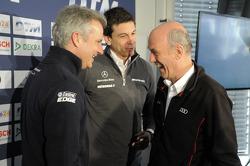 Jens Marquardt, BMW-Motorsportchef; Torger Christian Toto Wolff, Mercedes-Sportchef; Dr. Wolfgang Ul