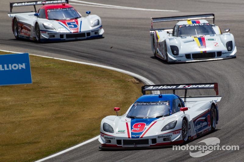 Action Express Racing Corvette DP: Joao Barbosa, Burt Frisselle