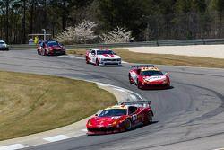 R.Ferri/AIM Motorsport Racing met Ferrari Ferrari 458: Max Papis, Jeff Segal