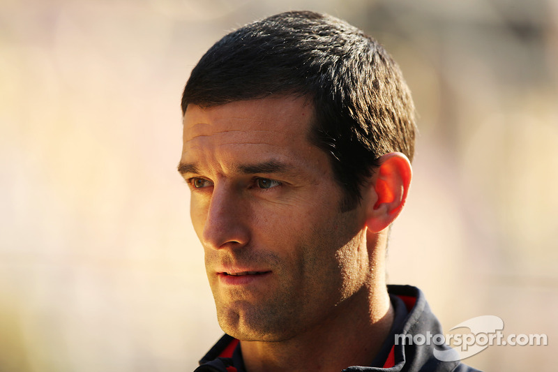 Mark Webber, Red Bull Racing with a new haircut