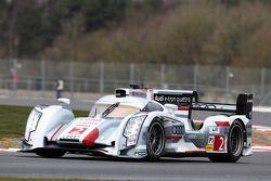 Tom Kristensen, Loïc Duval, Allan McNish, Audi Sport Team Joest, Audi R18 e-tron quattro