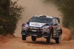 Nasser Al-Attiyah, Giovanni Bernacchini, Ford Fiesta WRC