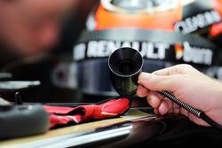 Kimi Raikkonen, Lotus F1 E21 keeps cool